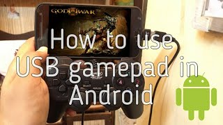 How to use USB joystick on Android (No Root Required)