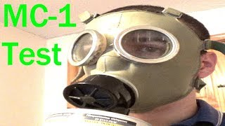 Polish MC-1 Gas Mask review and test