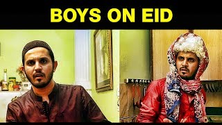 BOYS ON EID | Karachi Vynz Official