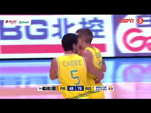 Xxx Mp4 Philippines Vs Australia Rumble Fight FIBA World Cup 2019 Asian Qualifiers 3gp Sex