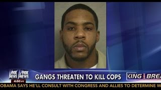 New Jersey Cops On High Alert As 'Bloods' Gang Threaten To Kill More Officers