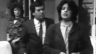 مسرح البدوي 1986  سلسلة نمادج بشرية   حلقة :عدو المرأة Série Marocaine   Theatre Badaoui