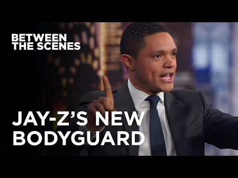 Jay Z's New Bodyguard Between the Scenes The Daily Show