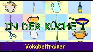 Deutsch einfach lernen - In der Küche 1 - die ersten Wörter- Yleekids Deutsch lernen