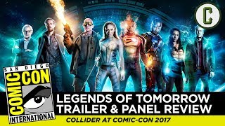 DC's Legends of Tomorrow Trailer and Panel Review - Comic-Con SDCC 2017