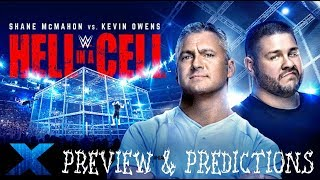 WWE Hell In A Cell 2017 PREVIEW & PREDICTIONS :: FULL MATCH CARD :: Shane McMahon vs. Kevin Owens!