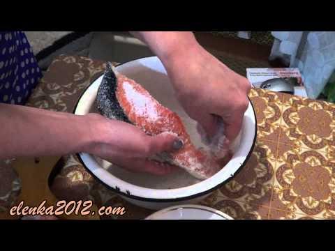 Засолка рыбы в домашних условиях и