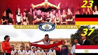 نسر الكونغ فو يهزم اللاعب الالماني ويحقق رقم عالمي في الفنون القتالية ركلة الحوضThe Arabs  vs Europe