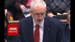 "Jeremy Corbyn on Brexit deal: ""Failed and miserable"" negotiations - BBC News"