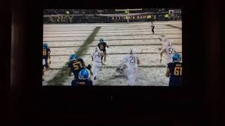 Army Vs Navy AMAZING QB Sneak For 46 Yards!!!!