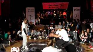 [Juste Debout 2012 UK] poppin final Nelson&Franquey VS Dickson&Brook