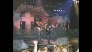 Metallica - Live Olympus - Lund, Sweden 09/24/1986 Full show HD
