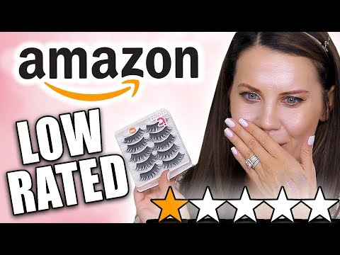TESTING LOW RATED AMAZON MAKEUP