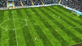 Man City vs Roma - Ag�ero Goal 51 minutes