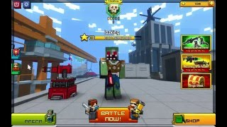 Pixel Gun World : chơi ngu