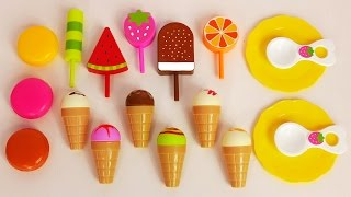 Ice Cream Stand and Sweet Treats Playset for Kids