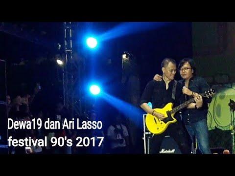 Dewa19 feat Ari lasso - Separuh Nafas (festival 90's 2017 PRJ Kemayoran