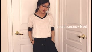 my small summer haul! (fashion, beauty, & books!)