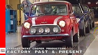 Classic Mini Cooper Production Factory Past & Present