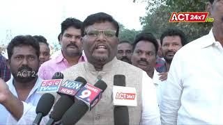 Mayor Shaik Abdul Aziz Visited Bodigadi Thota @ Nellore
