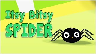 Itsy Bitsy Spider   Karaoke   Nursery Rhymes for Babies   Cartoons Central