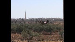 هذه اللعبة الخطيرة يمارسها شبان في درعا !