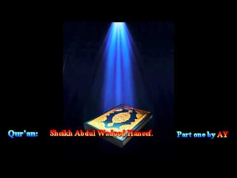 Quran: Part One by Abdul Wadood Maqbool Haneef.