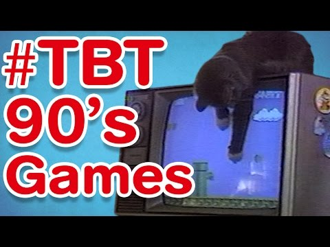 #TBT | 90's Games