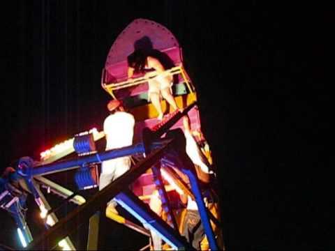 Accidente en montaña rusa Barco Anahuac Chapalita Kermesse