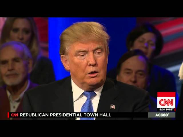 Donald Trump Destroys Anderson Cooper