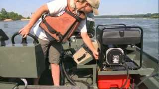 Finding different species of fish in the Ohio River