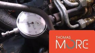 Adjusting Bosch VE pump on VW 1Z engine