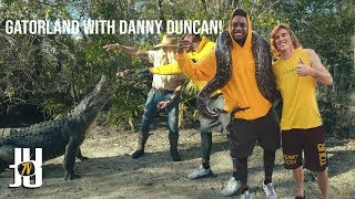 Playing with Snakes and Alligators with Danny Duncan!