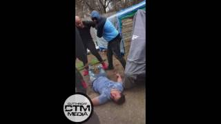 Loudmouth Gets Knocked Out