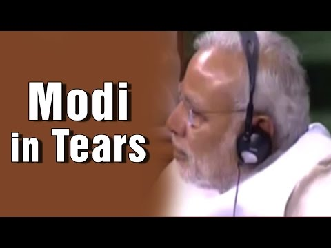 PM Modi in tears over BJP MP Hukmdev Narayan Yadav's emotional speech in Lok Sabha