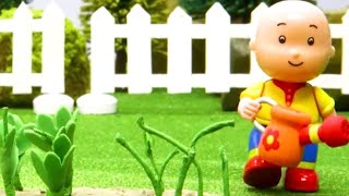 Funny Animated cartoon Kids | Caillou the farmer grows Vegetables WATCH ONLINE | Caillou Stop Motion
