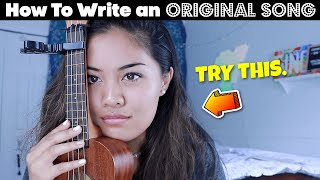 EASY WAY To Write An ORIGINAL Song in 12 MINUTES!