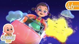 twinkle twinkle little star - Best nursery rhymes collection   Baby Songs by jugnu kids