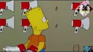 Los Simpson parodia dominicana