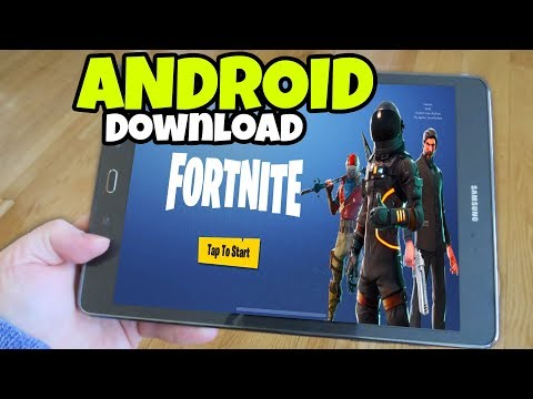 Xxx Mp4 How To Download Fortnite MOBILE On ANDROID Phones And Tablets Fortnite Mobile 3gp Sex