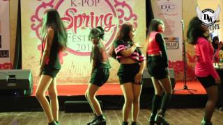 4U - UP&DOWN + AH YEAH + HOT PINK   DANCE COVER @ KSFBC