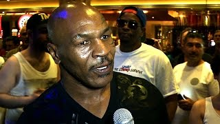 Mike Tyson on Mayweather vs. Pacquiao - ORIGINAL VIDEO - UCN Exclusive
