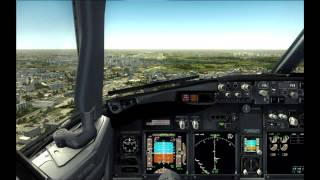 [FSX]Dhaka Hazrat Shahjalal International Airport RWY 14 Landing