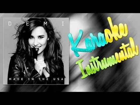 watch Demi Lovato - Made In The Usa [Karaoke / Instrumental] ᴴᴰ