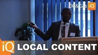 Local Content: Cape Oil Keynote Presentation
