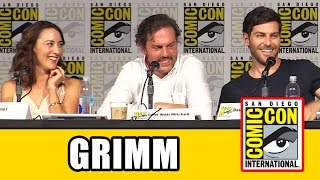 Grimm Comic Con Panel - Season 5, David Giuntoli, Claire Coffee, Bree Turner, Sasha Roiz