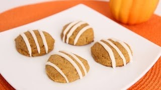 Homemade Pumpkin Cookies Recipe - Laura Vitale - Laura in the Kitchen Episode 667