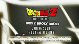 Dragon Ball Z - Broly Triple Feature Trailer