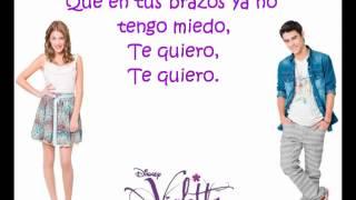Violetta - Te Creo (Com Letra)