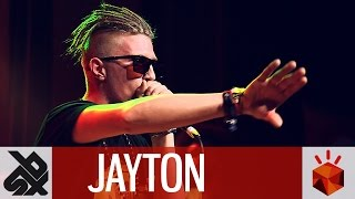 JAYTON     Grand Beatbox SHOWCASE Battle 2016     Elimination